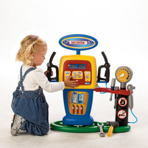 Electronic Self-Service Gas Station Play Set