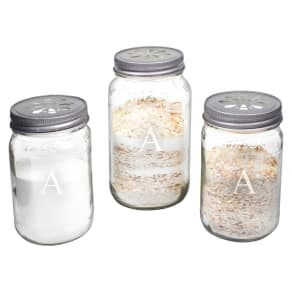 7424960f22ae2 3ct Monogram Wedding Mason Jar Sand Ceremony Set