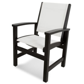 Polywood Outdoor Coastal Dining Arm Chair