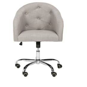 Task And Office Chairs Safavieh Gray Chrome