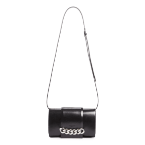 Givenchy Small Infinity Calfskin Leather Shoulder Bag - Black
