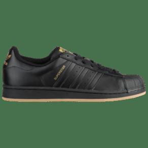 Adidas Originals Superstar - Mens - Black/Gold Metallic/Gum