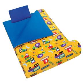 Wildkin Under Construction Original Sleeping Bag - Multicolor, Multi-Colored