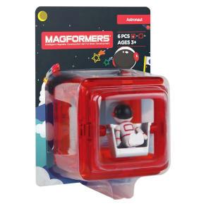 Magformers Figure Plus Astronaut Building Set - 6pc