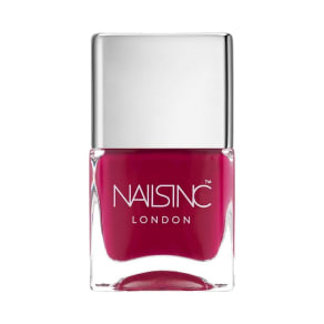 Nails Inc. Piccadilly Glossy Cerise Nail Polish 14ml