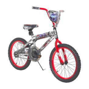 Hot Wheels 18 Kids' Bike - Light Silver/Red