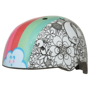 Trolls Rainbow Hair Color Me Child Helmet