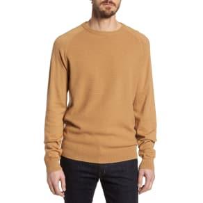 Men's Nordstrom Men's Shop Crewneck Cotton & Cashmere Sweater, Size Xx-Large - Brown