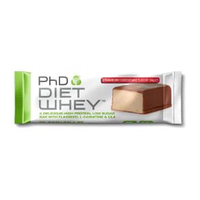 Phd Diet Why Strawberry Cheesecake Bar 50g