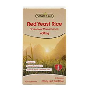 Natures Aid Red Yeast Rice 90 Capsules