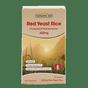 Natures Aid Red Yeast Rice 90 Capsules