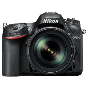 Nikon D7200 Dslr Camera With 18-105mm Vr Lens, 24.2 Mp, Hd 1080p, Built-In Wi-Fi, Nfc, 3 Lcd Screen