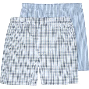 Jos. A. Bank Plaid & Stripe Woven Boxers, 2-Pack