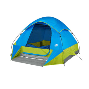 Northwest Territory 9' X 7' Raised Wall Tent With Carry Bag, Blue/Green