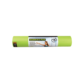 Yoga Mad Warrior Yoga Ii Mat 6mm, Lime