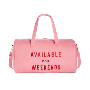 Ban. Do Available for Weekends Getaway Duffel Bag