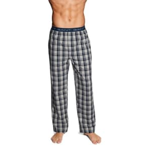 Uptown Check Pajama Pants - Navy