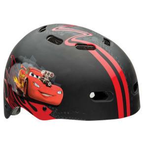 Cars McQueen Child Helmet - Red/Black