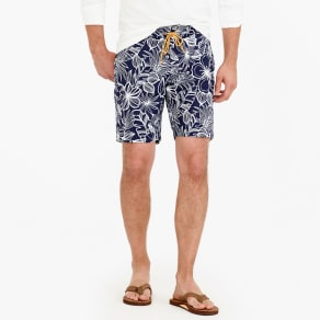 "9"" Board Short in Navy Floral"