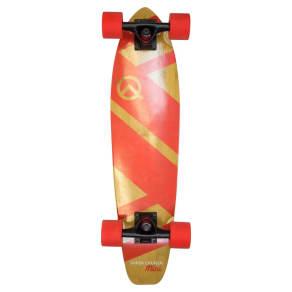 Quest Super Cruiser Mini 27 Skateboard - Red