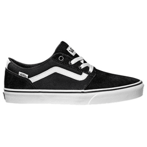 Vans Chapman Stripe Suede Trainers, Black/White