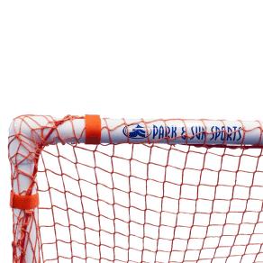 Park & Sun Sports Bungee Slip Net - 8'x6'x4' - Replacement Goal Net, Orange