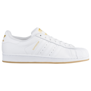 Adidas Originals Superstar - Mens - White/Gold Metallic/Gum