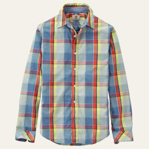 Men's Lane River Slim Fit Poplin Shirt
