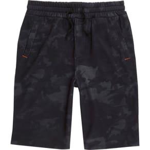 River Island Boys Navy Camo Jersey Shorts