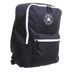 Converse Horizontal Zip Back Pack Navy Nylon