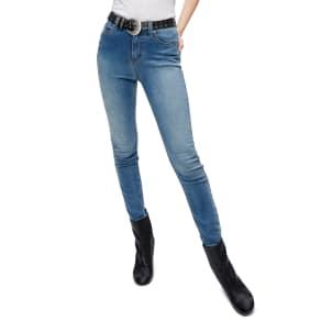 Women's Free People Gummy High Waist Jeans, Size 24 - Blue