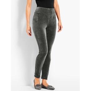 Talbots: Luxe Velour High Waist Legging
