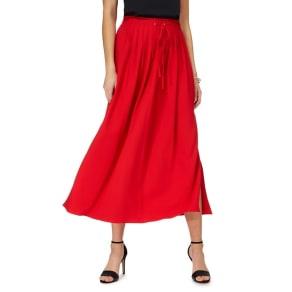 Principles by Ben De Lisi Red Maxi Skirt