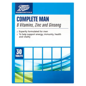 Boots Complete Man 30 Tablets