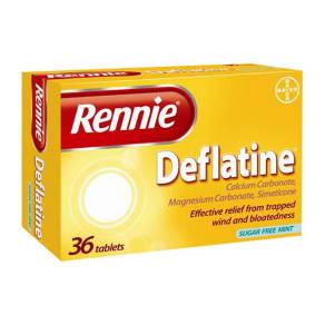 Rennie Deflatine (36 Tablets)