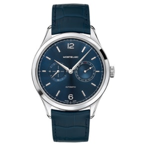 Montblanc Heritage Chronometrie Twincounter Date Automatic Men's Watch