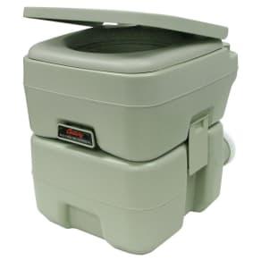 Century Portable Toilet - 5.2 Gallon, Medium Off-White