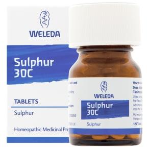 Weleda Sulphur 30c 125 Tablets - 125tablets