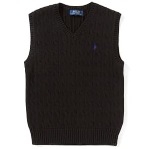 Ralph Lauren Childrenswear Big Boys 8-20 Cable-Knit Sweater Vest