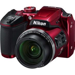 Nikon  Coolpix B500 Bridge Camera - Red, Red