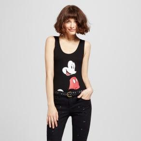 Women's (C)disney Mickey Mouse Bodysuit - Black S