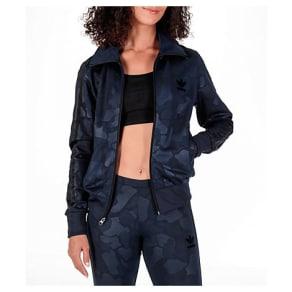 Adidas Women's Originals Firebird Track Jacket, Blue