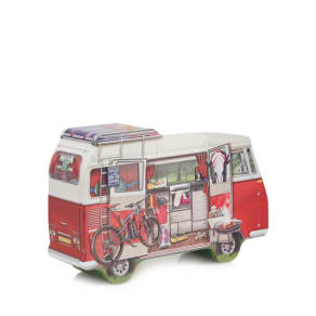 Debenhams - Campervan Shaped Cookie Tin - 450G
