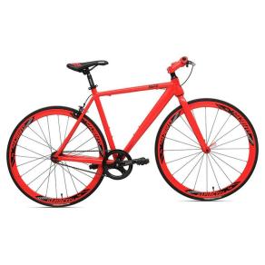 Rapid Cycle Evolve Flatbar Road Bike 21 - Red