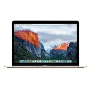 12-inch MacBook 1.1GHz Dual-core Intel Core m3- Gold