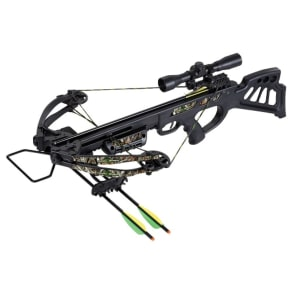 Sa Sports Empire Dragon Crossbow Package - 340fps - 610, Black