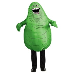 Ghostbusters Inflatable Slimmer Kids' Costume Green, Boy's