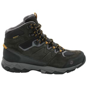 Jack Wolfskin Waterproof Hiking Shoes Men Mountain Attack 6 Texapore Mid Men 8 Yellow