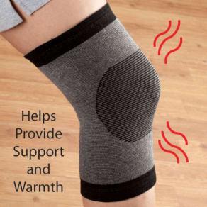 j.r.j. Superior Shuttersmen's Bamboo Knee Support