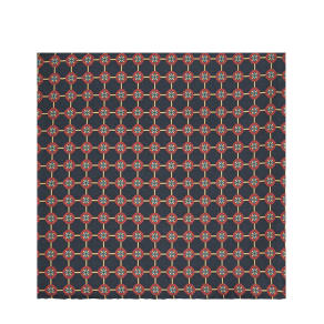 Reiss Lucca - Printed Silk Pocket Square in Navy
